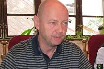 Krajský předseda TOP 09 Petr Zahradníček.