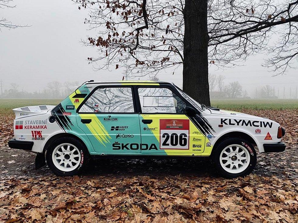 Rallye speciál Škoda 130 LR bude na Dakaru řídit Ondřej Klymčiw