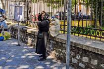 Řečtí důchodci musejí vyjít s čím dál menšími penzemi.