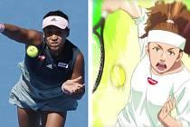 """Japonskou tenistku Naomi Ósakaovou v reklamě na nudle Nissin """"vybělili"""""""