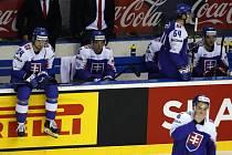 Smutek hokejistů Slovenska