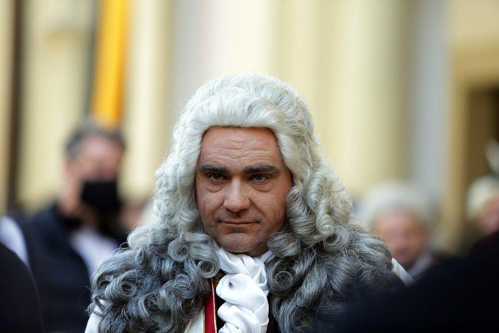 Vojtěch Kotek jako vévoda František Štěpán Lotrinský
