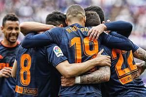 Fotbalisté týmu Valencia CF.