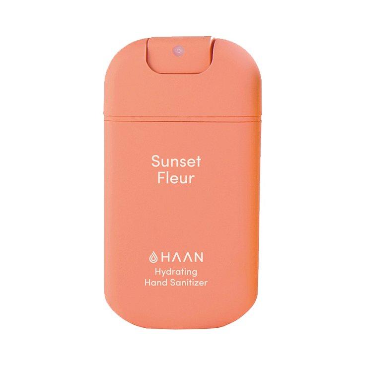 Antibakteriální nelepivý sprej s aloe vera Sunset Fleur, Hann (exkluzivně v parfumerii Fann), 149 Kč