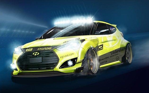"Hyundai Veloster Turbo ""Night Racer""."