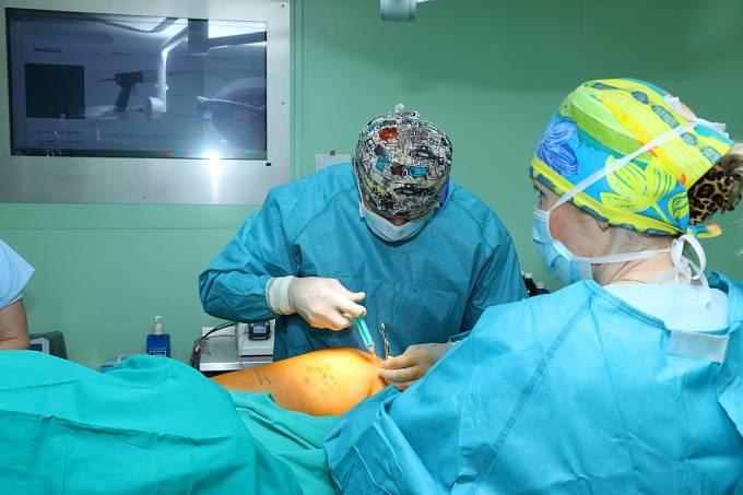Nová metoda k léčbě křečových žil.