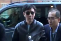 Na snímku je údajně Kim Čong-čul, když v roce 2015 navštívil v Londýně koncert Erika Claptona