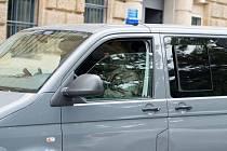 Automobil německé policie  - ilustrační foto
