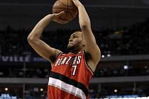 Basketbalista Portlandu Brandon Roy.