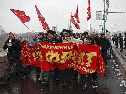 Ruskem se v sobotu přehnala vlna protestů proti výsledkům voleb