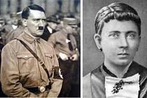 Adolf Hitler a jeho matka Klara