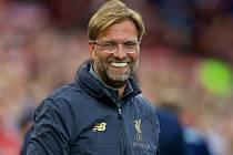 Trenér Liverpoolu Jürgen Klopp.