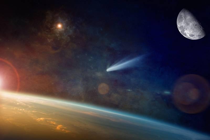 Kometa - Ilustrační foto