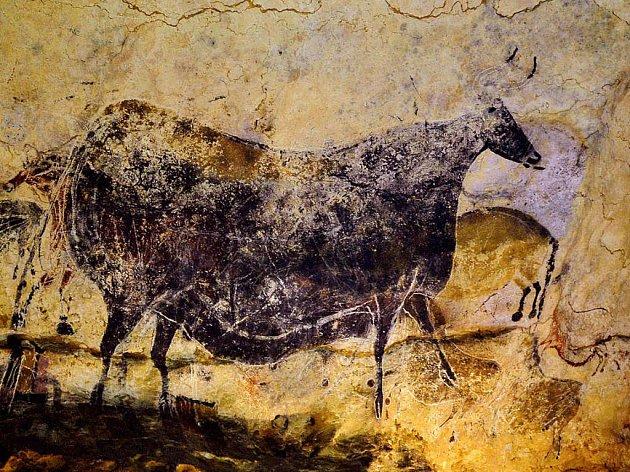 Jeskyně Lascaux je na seznamu světovégo dědictví UNESCO.