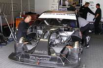 Tak vypadá odstrojený Mercedes Benz C-Klasse DTM.