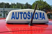 Autoškola, ilustrační foto.