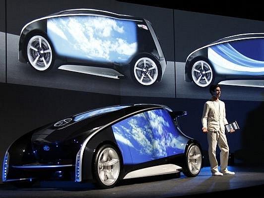 Toyota představila koncept futuristického automobilu.