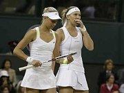 Petra Kvitová na Wimbledonu.