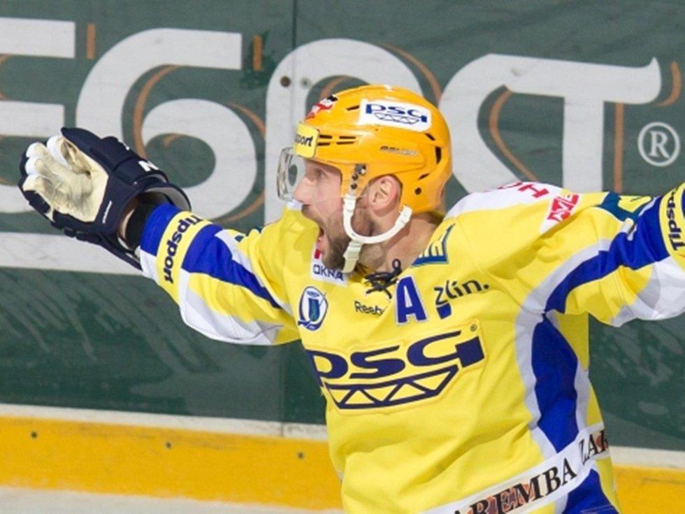 Petr Leška se výrazně podílel na vítězství Zlína v Třinci.