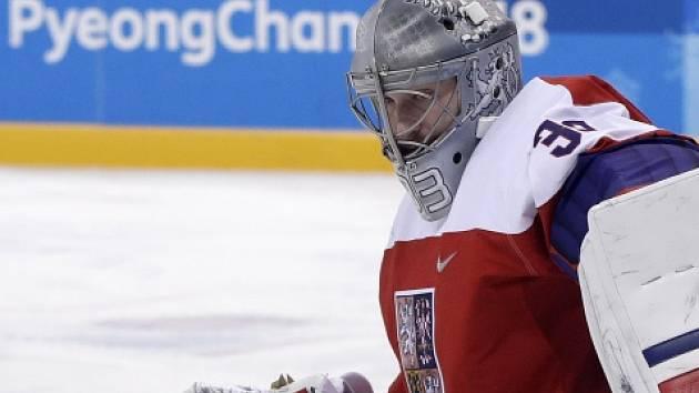 Hrdina čtvrtfinále olympijských her proti USA Pavel Francouz.