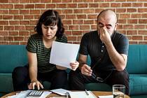 Půjčka, úvěr, dluh - Ilustrační foto