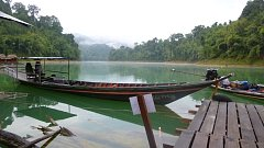 Thajsko, Národní park Khao Sok, jezero Cheow Lan