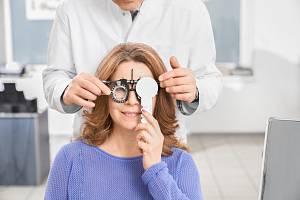 Návštěva očního lékaře