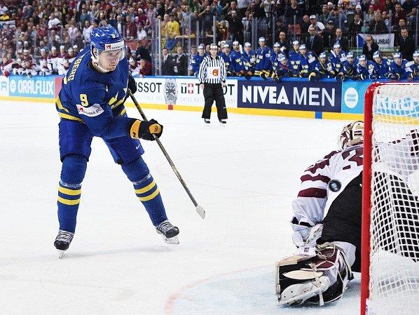 Švédsko si poradilo s Lotyšskem i díky nájezdu Filipa Forsberga
