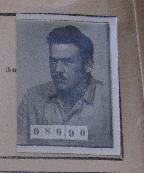 Vladimír Požár z vězeňského spisu z NA
