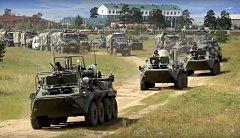 """Cvičení ruské armády """"Vostok 2018""""."""