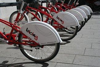 Turistická kola v Barceloně