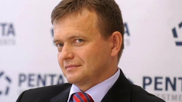 Spolumajitel finanční skupiny Penta Jaroslav Haščák.