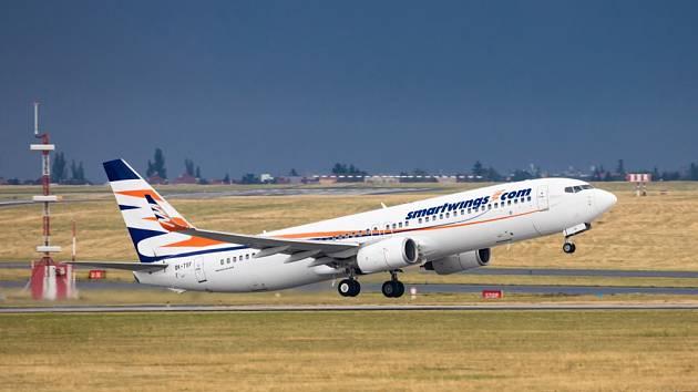 Boeing 737-800 společnosti Smartwings - Ilustrační foto