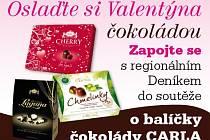 Zapojte se s regionálním Deníkem do soutěže o balíčky čokolády CARLA.