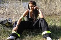 Miss hasička 2011 Ivana Hnilicová z SDH Chraberce.