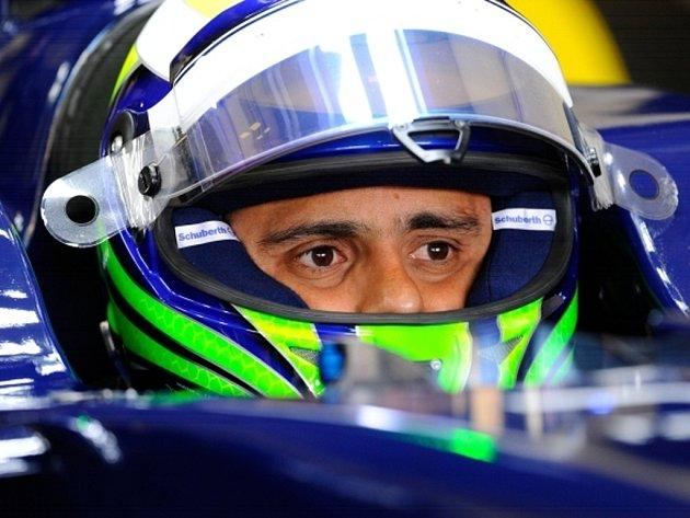 Bývalý kolega Michaela Schumachera z Ferrari Felipe Massa.