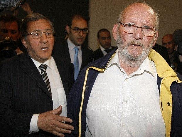 Jean-Claude Mas (vpravo) se svým právníkem