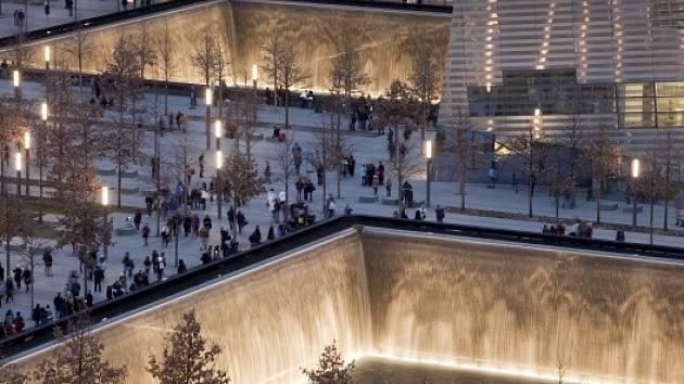 Památník obětem útoků z 11. září v New Yorku