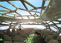 Airbus představil koncept nového stroje, jímž by se mělo létat za 40 let.
