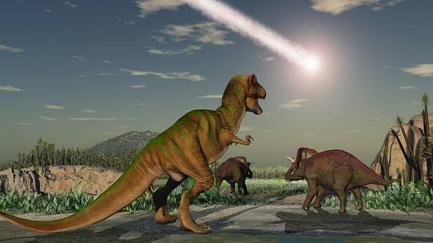 Obřím ještěrům se stal osudným přílet vesmírného tělesa. Zda šlo o planetku, nebo dinosaury vyhubila kometa, se vědci stále přou.