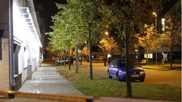 Výbuch před policejní stanicí v Helsingborgu
