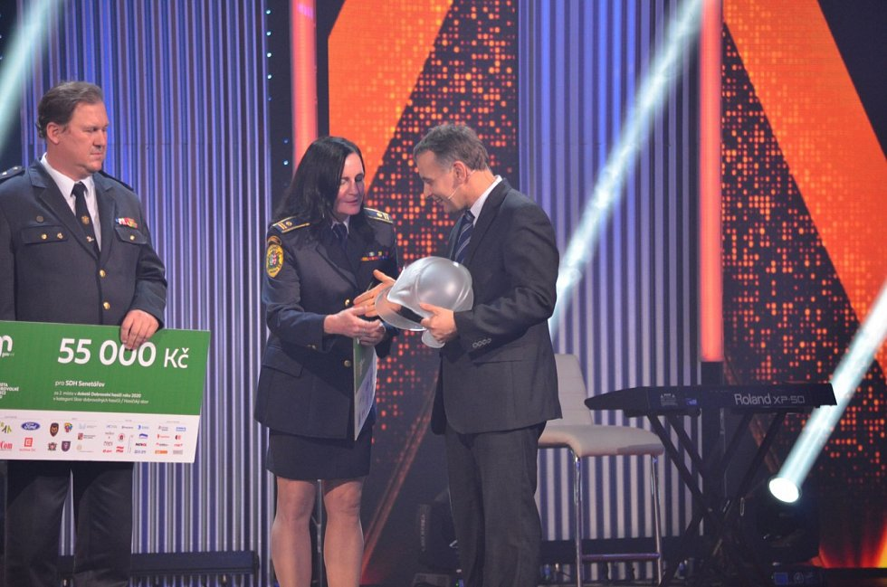 Vyhlášení cen Dobrovolní hasiči roku