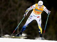 Švédský běžec na lyžích Calle Halfvarsson.
