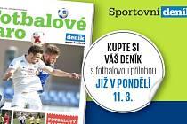 Fotbalová příloha Deníku.