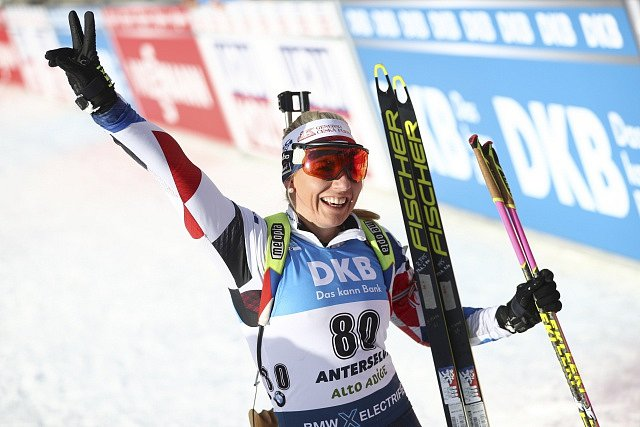 Lucie Charvátová ve sprintu
