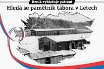 Hledá se pamětník tábora v Letech.