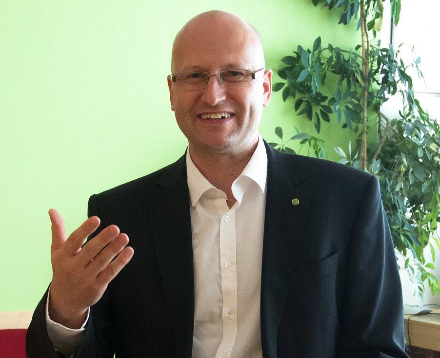 Martin Pýcha. Včele Zemědělského svazu působí od roku 2011.