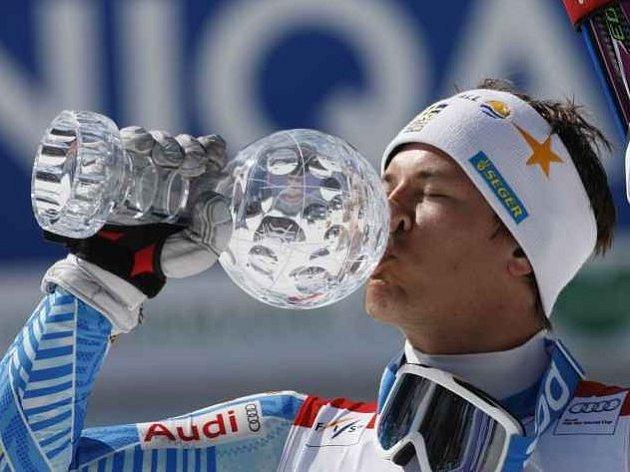 Král slalomáčů André Myhrer.