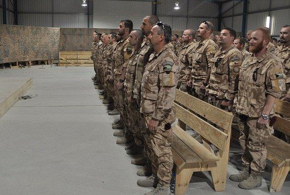 Čeští vojáci v Afghánistánu.