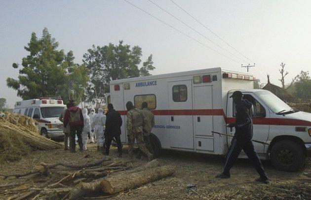 Útok v Nigérii.
